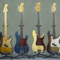 Fender 'P' basses